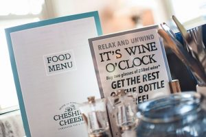 Where to eat out with friends - The Cheshire Cheese in Wheelock