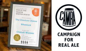 CAMRA Award Winning Pub